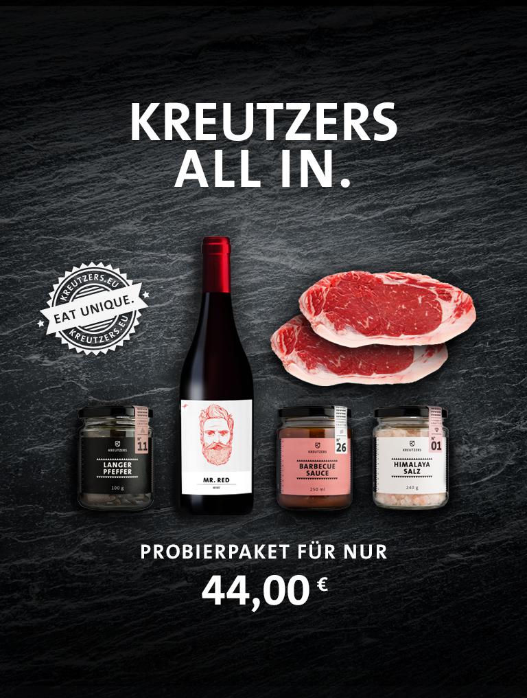 Kreutzers All In Probierpaket