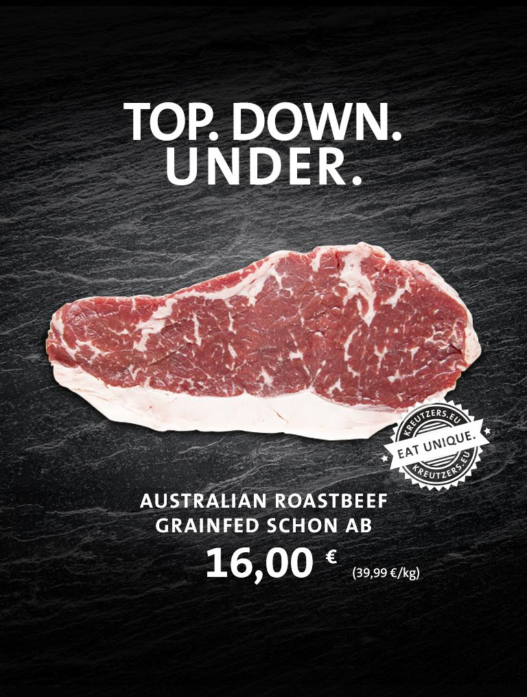 Special Preis Angebot Australien Roastbeef